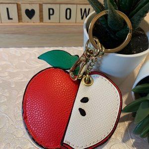 Apple Key Chain Purse Charm